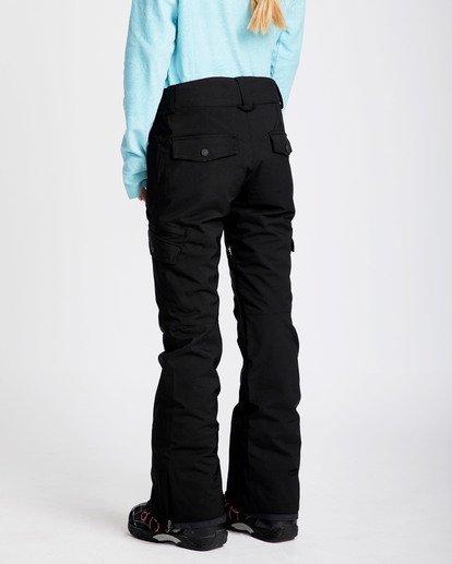 1 Women's Nela Slim Fit Outerwear Pants Black JSNPQNEL Billabong