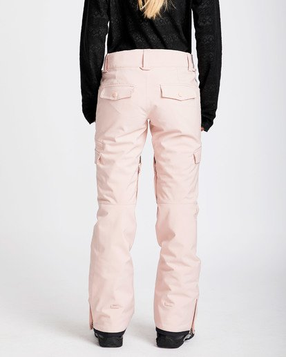 3 Women's Nela Slim Fit Outerwear Pants Pink JSNPQNEL Billabong