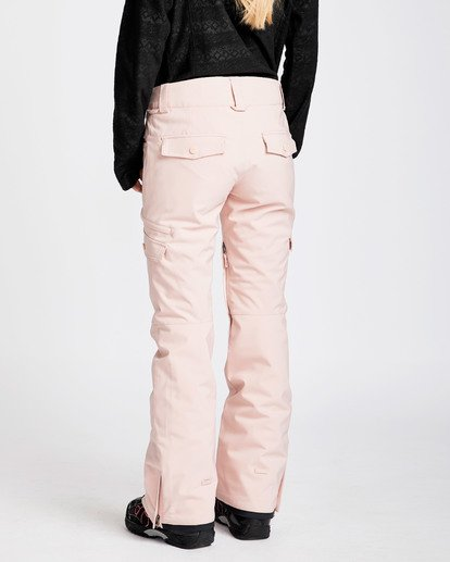 2 Women's Nela Slim Fit Outerwear Pants Pink JSNPQNEL Billabong
