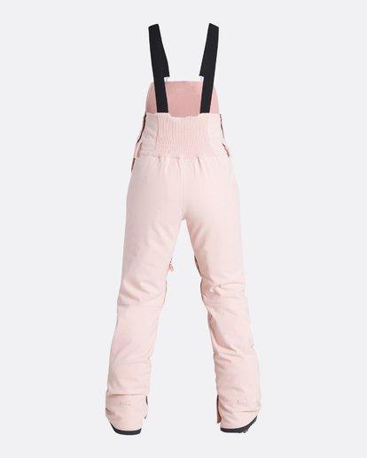 9 Women's Riva Outerwear Bib Pants Pink JSNPQRIV Billabong