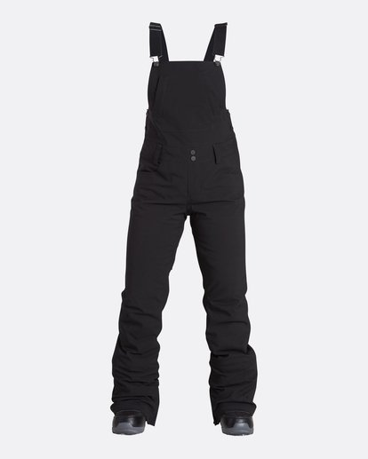 4 Women's Riva Outerwear Bib Pants Black JSNPQRIV Billabong