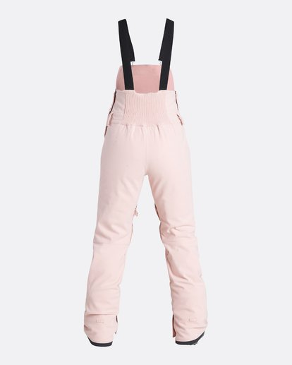 6 Women's Riva Outerwear Bib Pants Pink JSNPQRIV Billabong