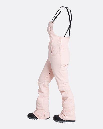 5 Women's Riva Outerwear Bib Pants Pink JSNPQRIV Billabong