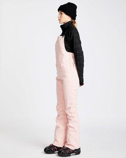 1 Women's Riva Outerwear Bib Pants Pink JSNPQRIV Billabong