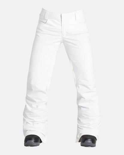 10 Women's Terry Slim Fit Outerwear Pants Grey JSNPQTER Billabong