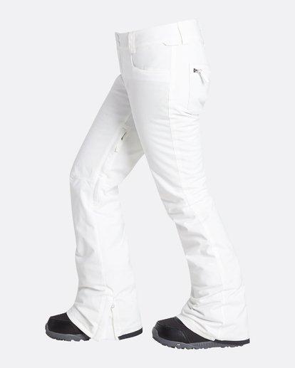 8 Women's Terry Slim Fit Outerwear Pants Grey JSNPQTER Billabong