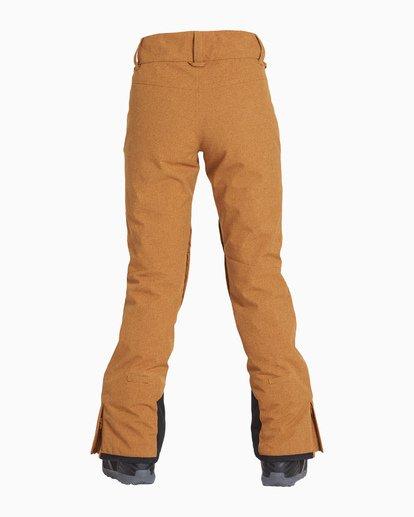 4 Women's Malla Snow Pant Yellow JSNPVBMA Billabong
