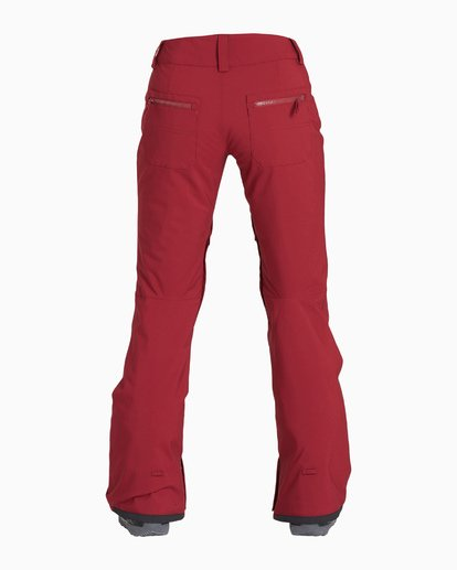 4 Women's Terry Snow Pant Red JSNPVBTE Billabong