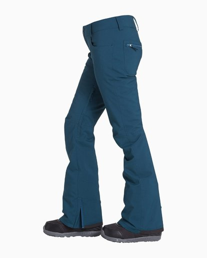 3 Women's Terry Snow Pant Blue JSNPVBTE Billabong