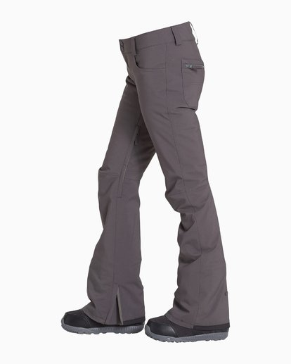 4 Women's Terry Snow Pant Grey JSNPVBTE Billabong