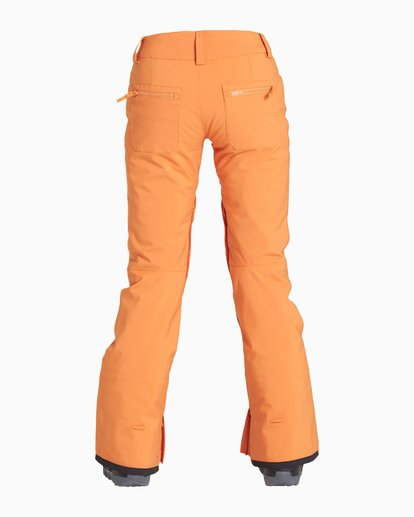 4 Women's Terry Snow Pant Orange JSNPVBTE Billabong