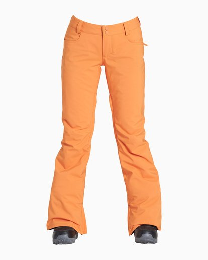 2 Women's Terry Snow Pant Orange JSNPVBTE Billabong