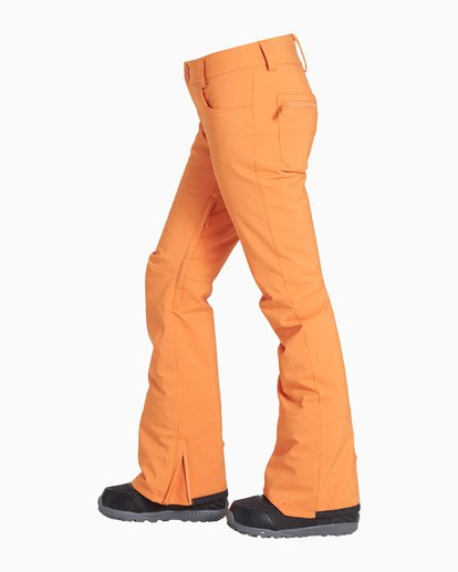 3 Women's Terry Snow Pant Orange JSNPVBTE Billabong
