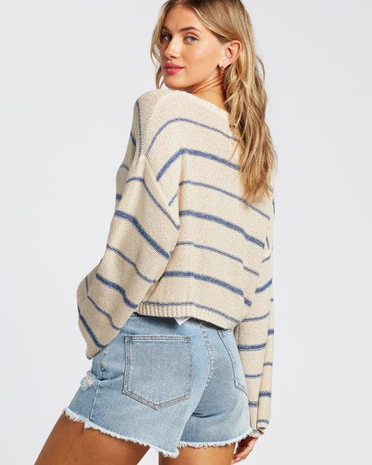 2 Hello There Sweater Blue JV012BHE Billabong