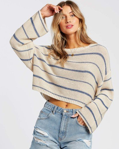 0 Hello There Sweater Blue JV012BHE Billabong
