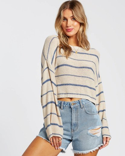 1 Hello There Sweater Blue JV012BHE Billabong