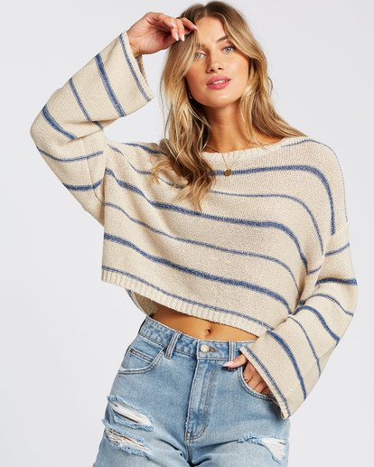 3 Hello There Sweater Blue JV012BHE Billabong