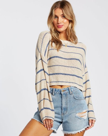 4 Hello There Sweater Blue JV012BHE Billabong