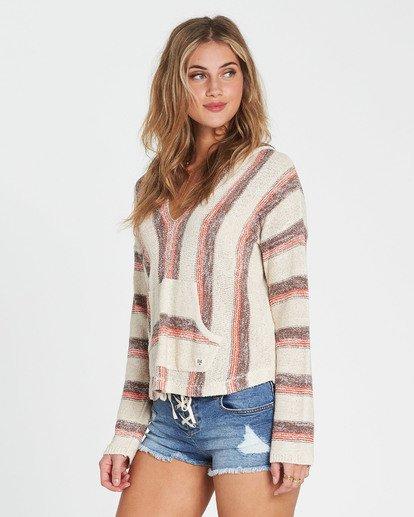 1 Baja Beach Hooded Sweater Red JV01QBBA Billabong