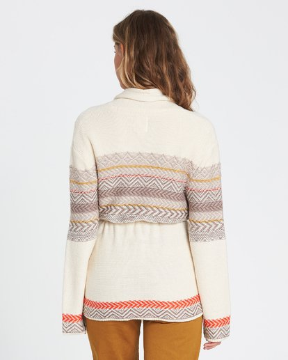 2 We Wrapping Wrap Cardigan White JV01SBWE Billabong