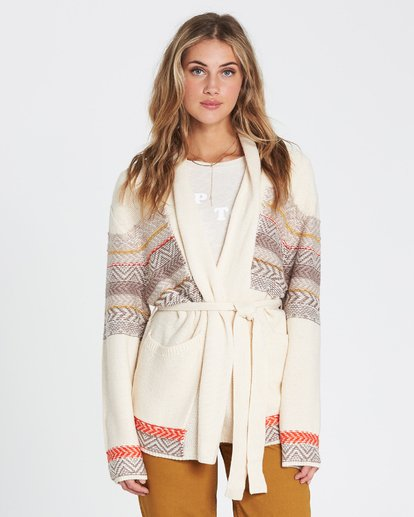 3 We Wrapping Wrap Cardigan  JV01SBWE Billabong
