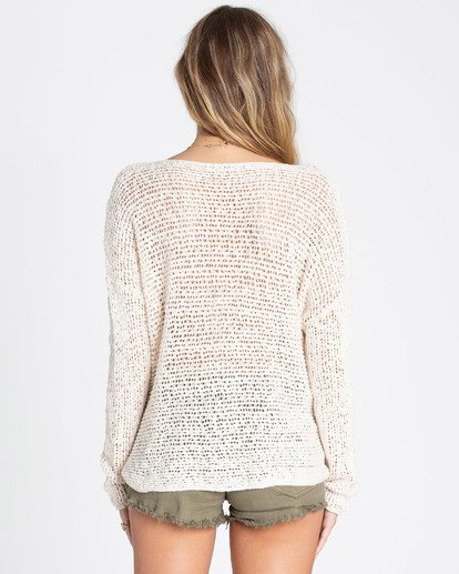2 After Glow Wrap Sweater White JV01TBAF Billabong