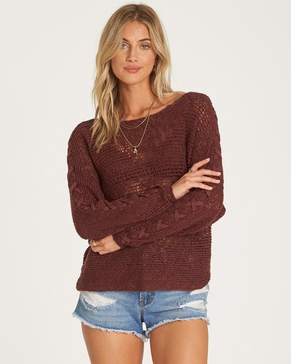 0 Chill Out Sweater Purple JV01VBCH Billabong
