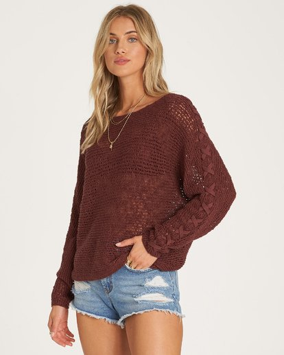 1 Chill Out Sweater Purple JV01VBCH Billabong
