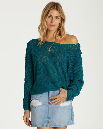 0 Chill Out Sweater Blue JV01VBCH Billabong