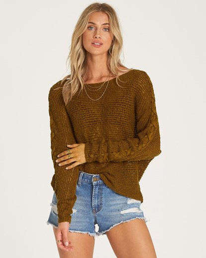 0 Chill Out Sweater Green JV01VBCH Billabong