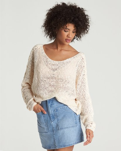 3 Chill Out Sweater White JV01VBCH Billabong