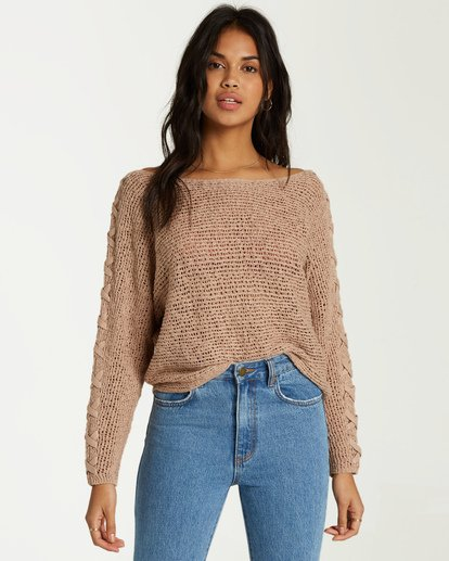 0 Chill Out Sweater White JV01VBCH Billabong