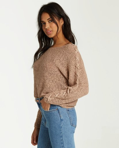 1 Chill Out Sweater White JV01VBCH Billabong