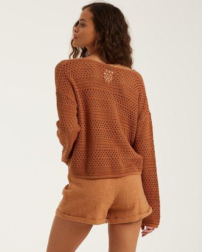 2 Good Times Sweater Brown JV022BGO Billabong