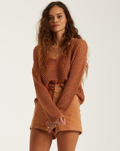 1 Good Times Sweater Brown JV022BGO Billabong