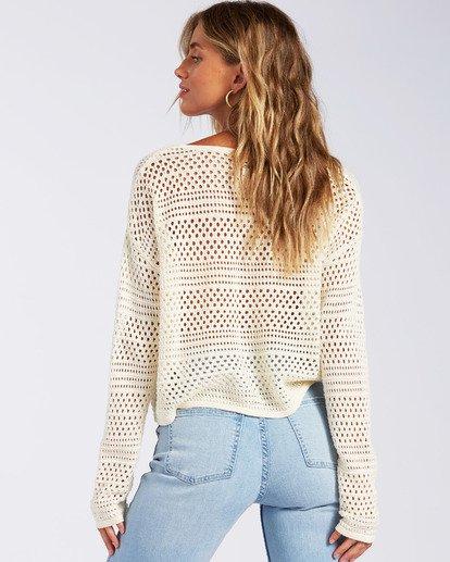 2 Good Times Sweater White JV022BGO Billabong