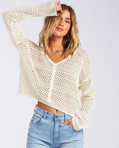 0 Good Times Sweater White JV022BGO Billabong