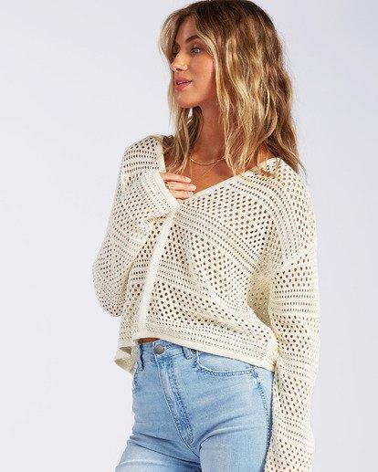 1 Good Times Sweater White JV022BGO Billabong