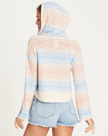 2 Baja Beach Sweater White JV02TBBA Billabong