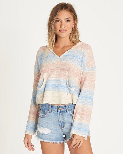 0 Baja Beach Sweater White JV02TBBA Billabong