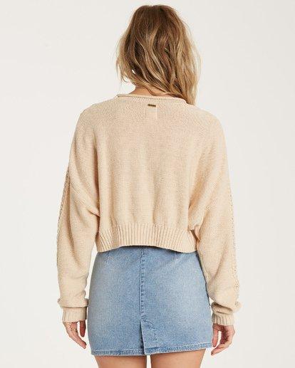 3 Night Falls Sweater White JV02WBNI Billabong