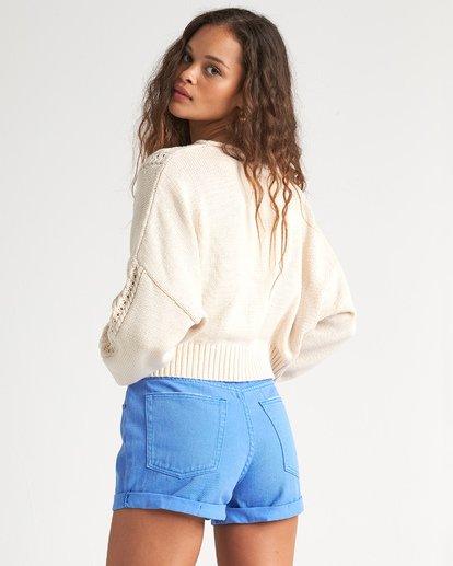 2 Night Falls Sweater White JV02WBNI Billabong