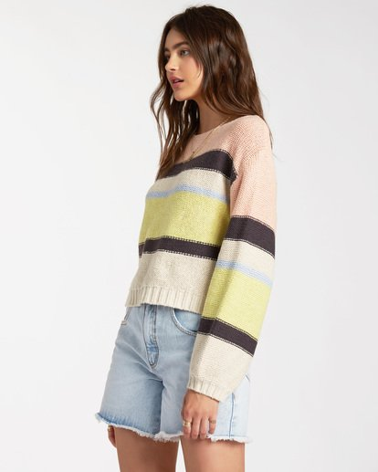 1 Seeing Stripes Sweater Multicolor JV033BSE Billabong