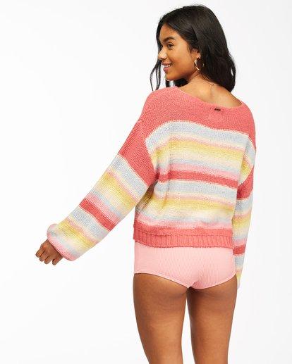 2 Seeing Stripes Sweater Multicolor JV033BSE Billabong