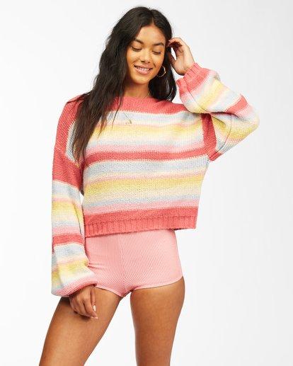 0 Seeing Stripes Sweater Multicolor JV033BSE Billabong