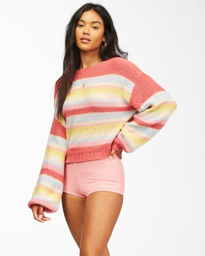 1 Seeing Stripes Sweater Multicolor JV033BSE Billabong