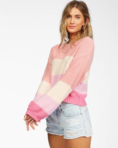 1 Seeing Stripes Sweater Grey JV033BSE Billabong