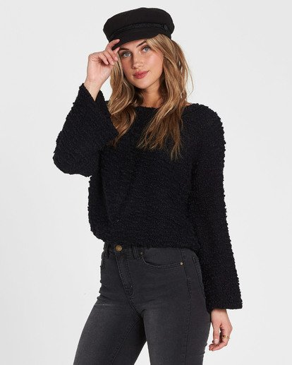 1 Off The Beat Sweater Black JV03SBOF Billabong