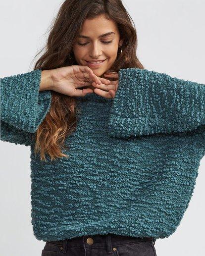 2 Off The Beat Sweater Green JV03SBOF Billabong
