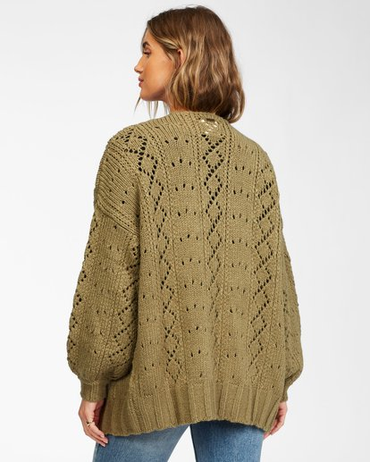 2 Blissed Out Sweater Green JV03WBBL Billabong